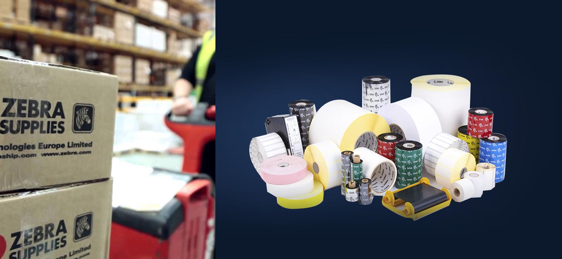 Etiquetas y Consumibles